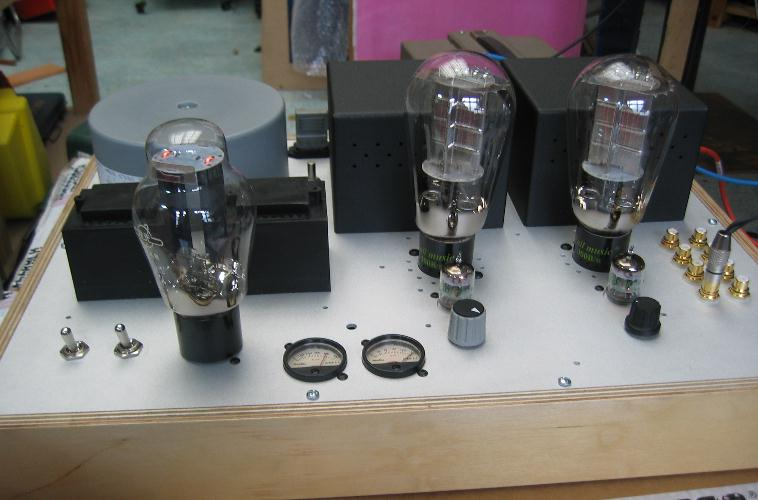 211 single ended triode Tube amplifier using lundahl interstage